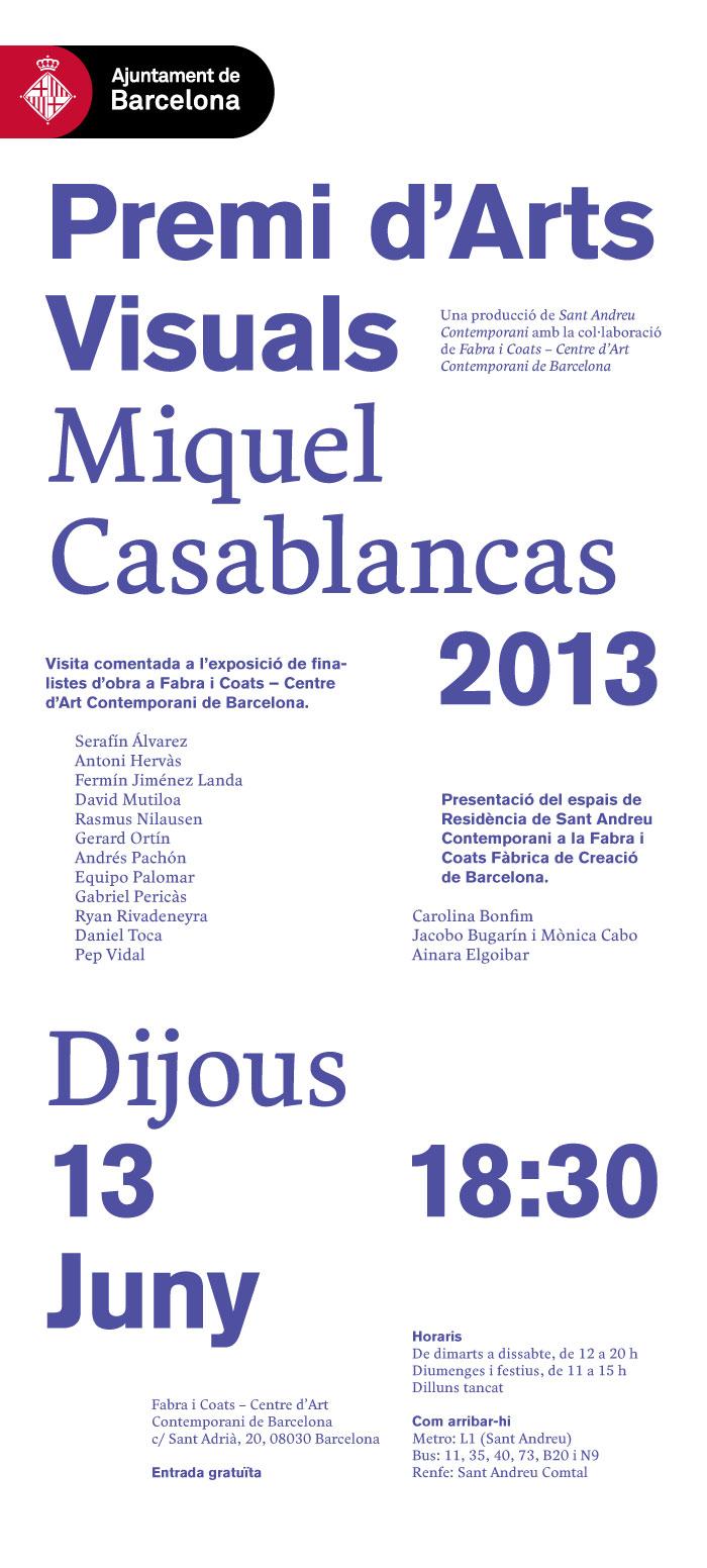 SAC 2013