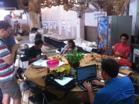 barcelona - workshop @ fab10 ©refarmthecity